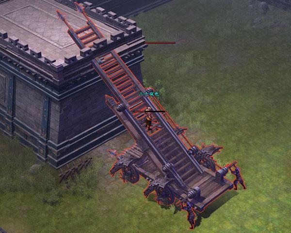进攻方武器:云梯