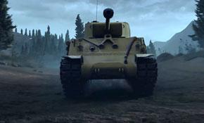 赤色火风解说《坦克连》试玩视频