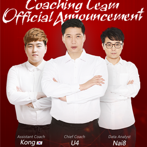 The OWL Shanghai Dragons Official Coaching Team Announced