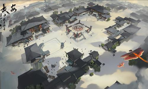 梦回盛唐,网易《轩辕剑龙舞云山》再现经典建筑之美