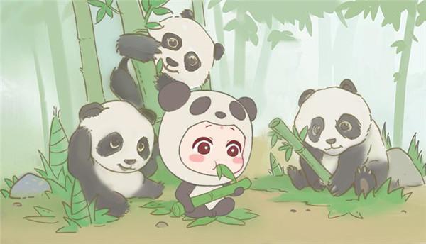 【图2】与熊猫合影,看看谁更萌?