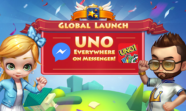 World's Card Game, UNO™, Launches on Facebook Messenger