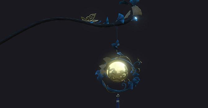 九灵:女夷·花林月霰灯