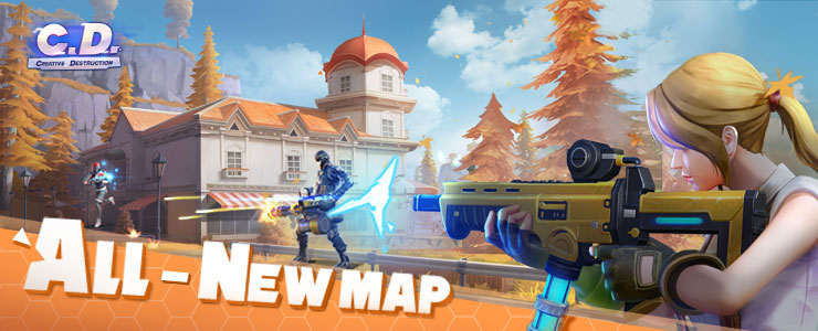 all new map