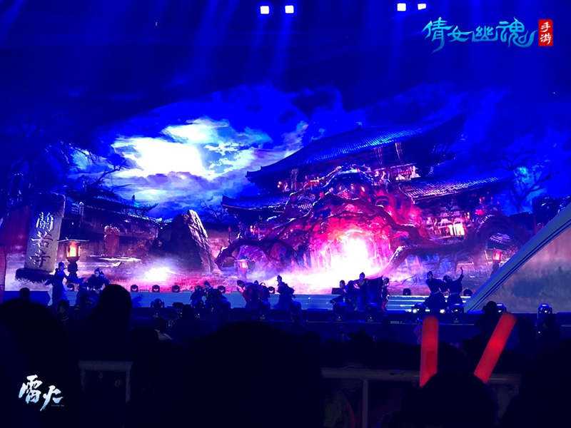 倩女手游奇幻舞台剧现身鸟巢,《梦回兰若》惊艳四座!