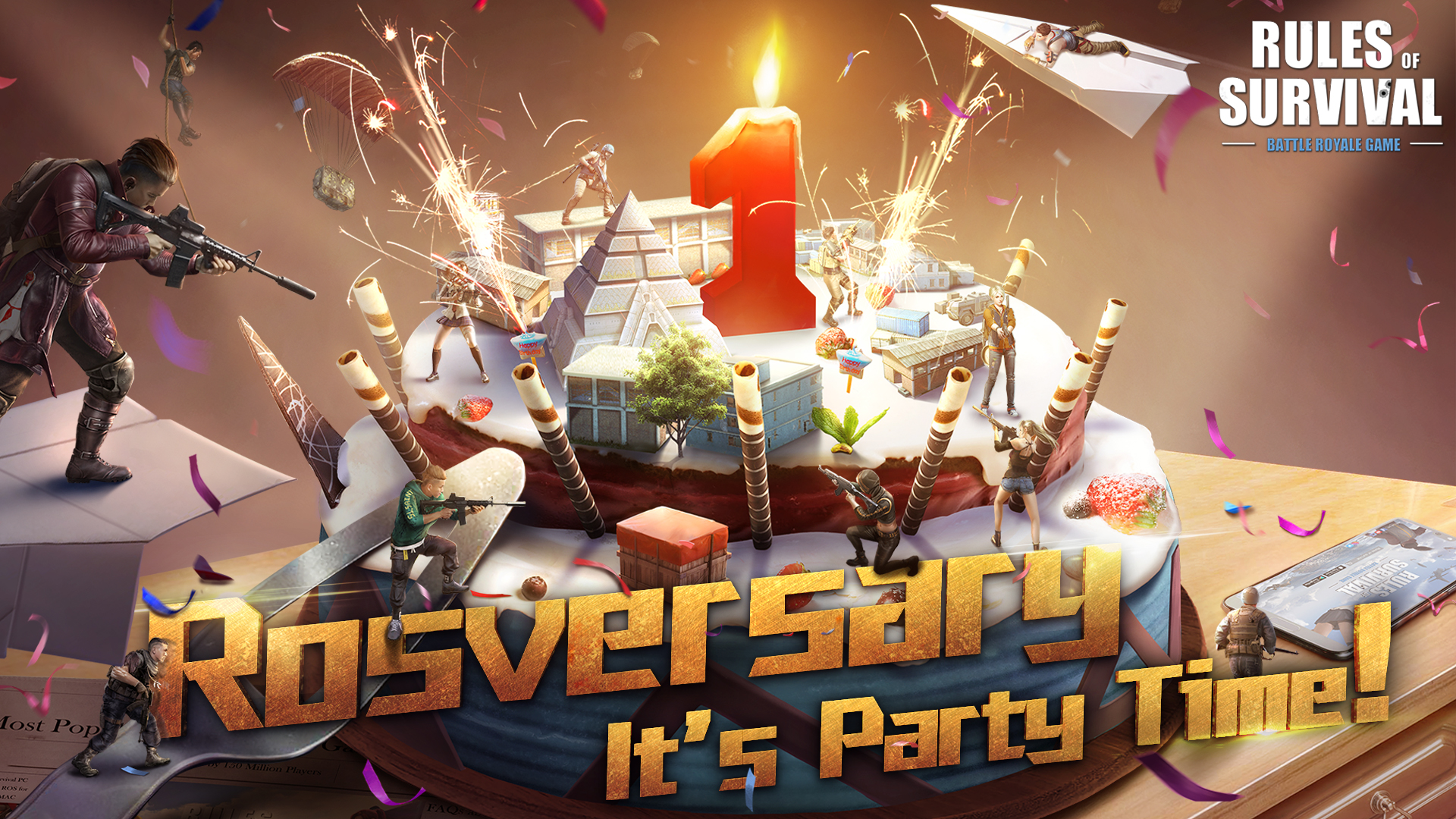 Rules Of Survival Celebrates 1 Year Anniversary With