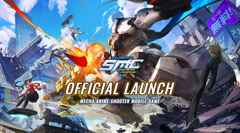 Super Mecha Champions - NetEase New TPS game released on