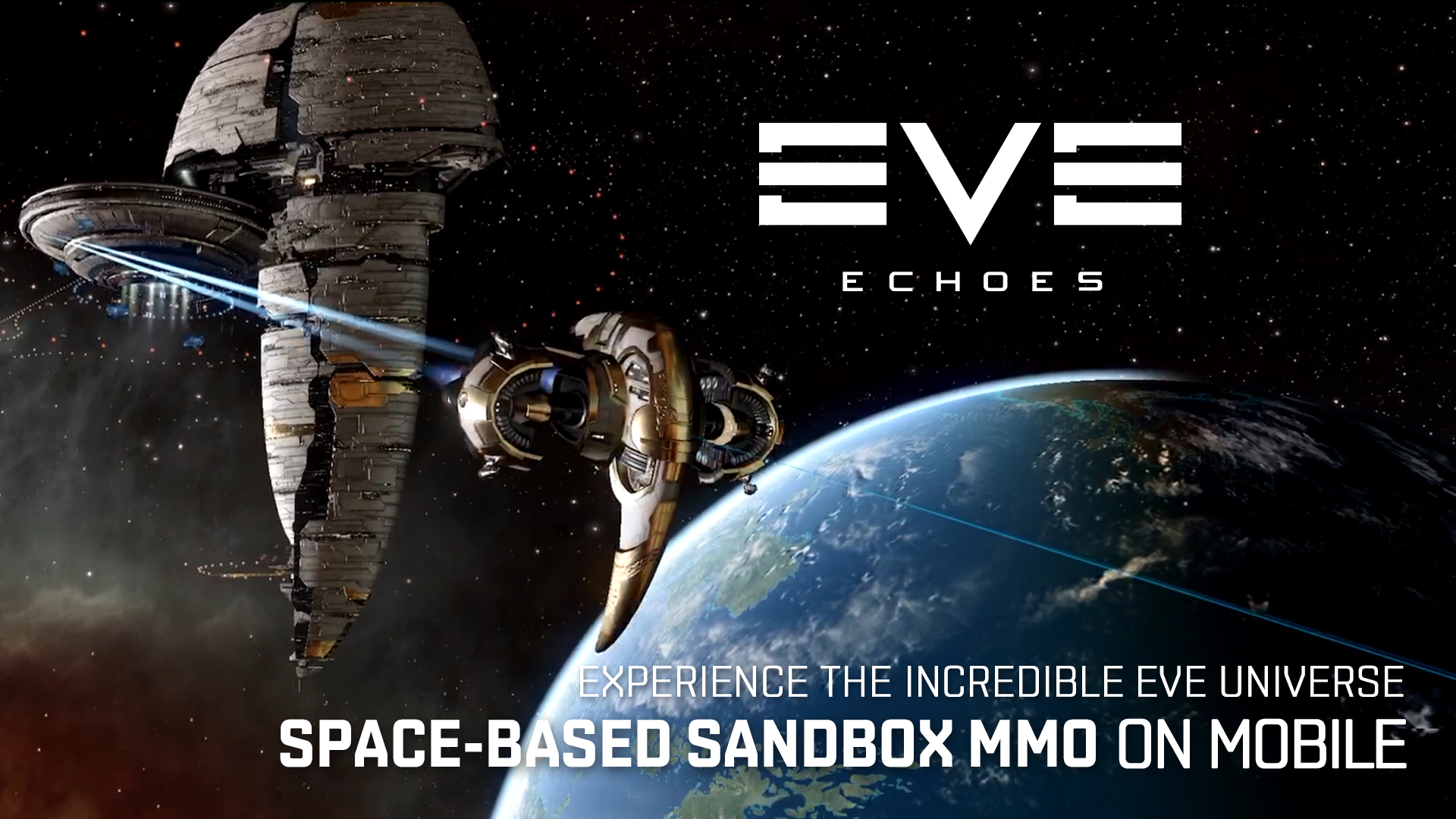 Mobile Gamers in Select Territories Can Enter a New Universe of Exploration, Combat & Trade This Month with EVE Echoes