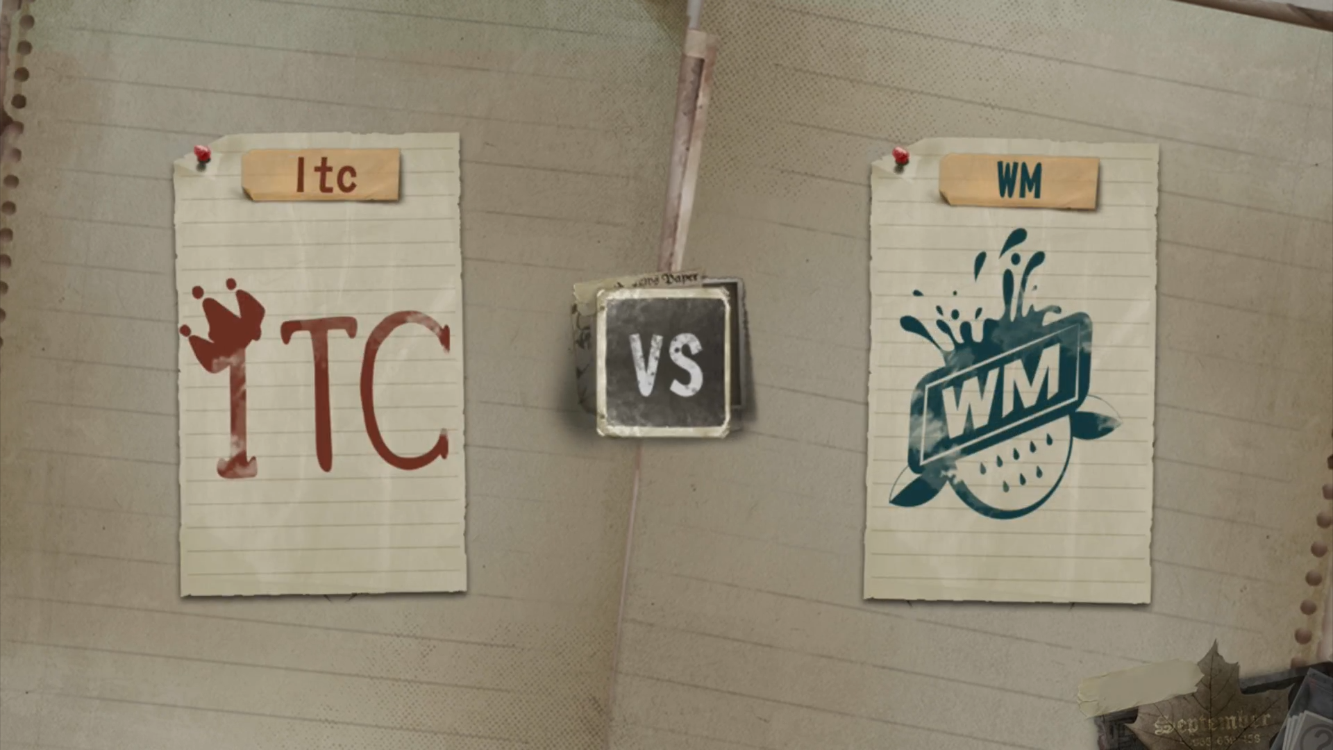 8月11日,周日,败者组第二轮 Itc vs WM