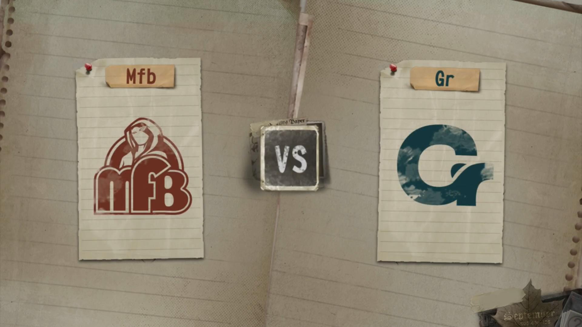 8月10日,周六,胜者组第一轮Mfb vs Gr