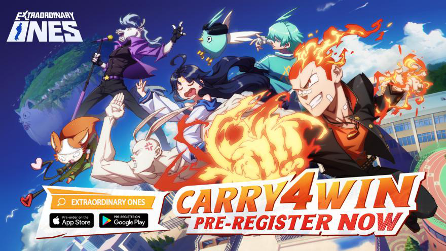 Extraordinary Ones, an Anime-Themed MOBA by NetEase Games Now Available to Pre-register on iOS and Android