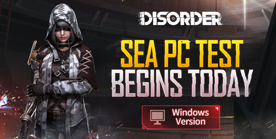 Disorder PC OBT Begins Today