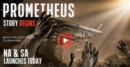 NA & SA Launches and New Trailer Prometheus Release