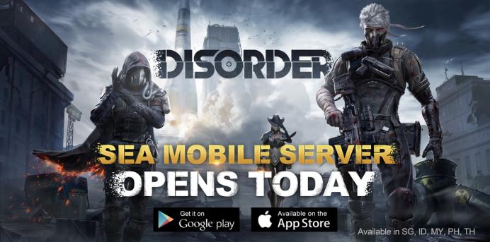 Disorder mobile est mis en ligne aujourd'hui pour une toute nouvelle expérience de tir Une récompense de bienvenue d'une durée limitée vous attend