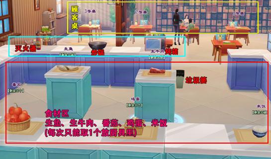 《新倩女幽魂》模拟餐厅