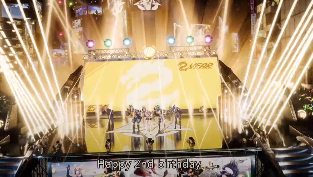 荒野行動2周年応援ソング「Happy」