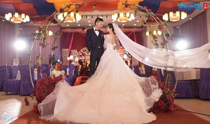图6:倩女手游为玩家策划线下浪漫婚礼