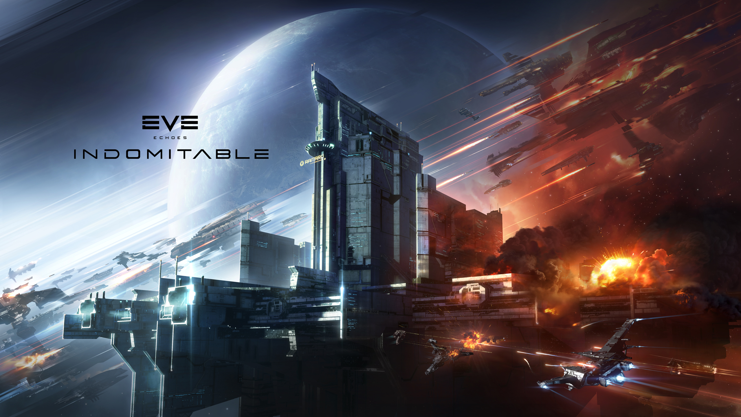 Control the Galaxy & Battle More Players Than Ever Before in The New Expansion for EVE Echoes, INDOMITABLE