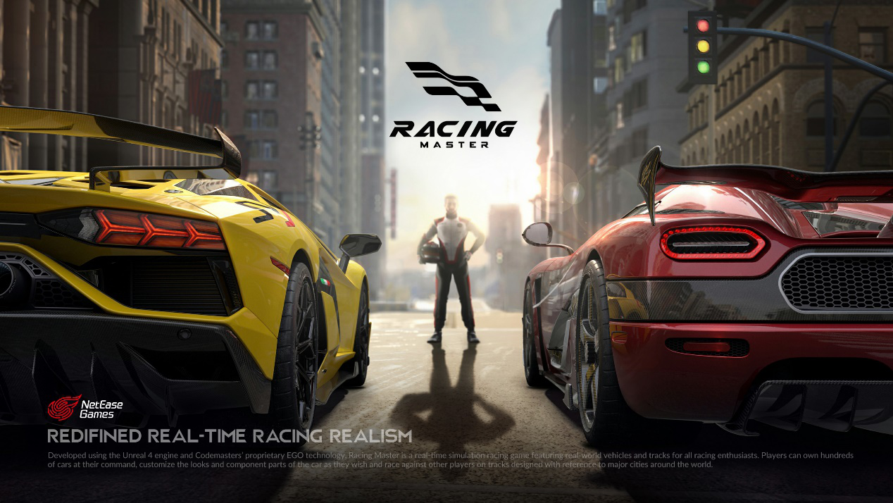 Redefined Real-time Racing Realism - NetEase Games and Codemasters® team up to Announce Racing Master