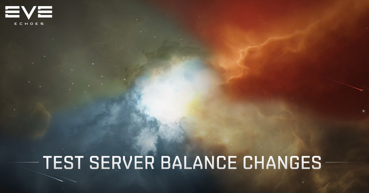 4/22 Test Server Balance Change Notes