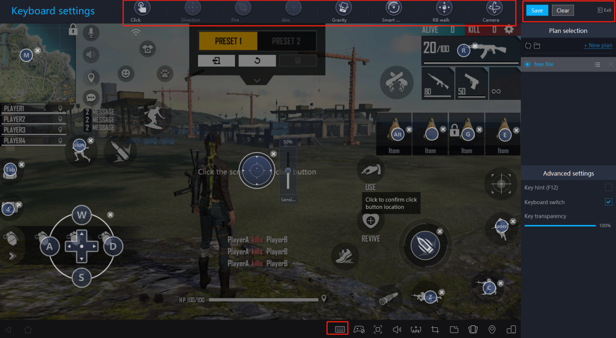 How to play Free Fire on perfectly smooth 120 fps8