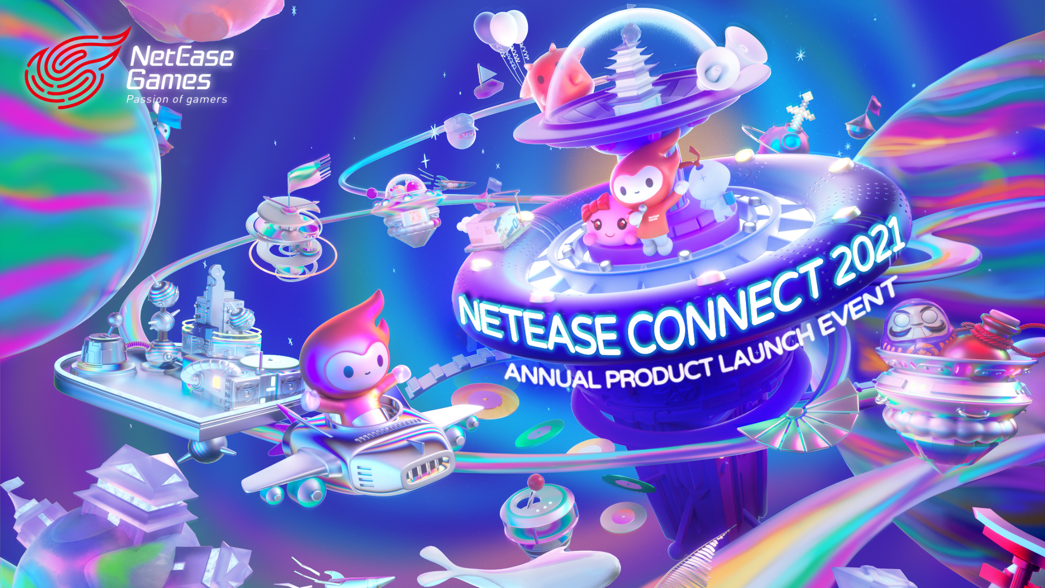 NetEase Connect 2021: Coming to you live on May 20th